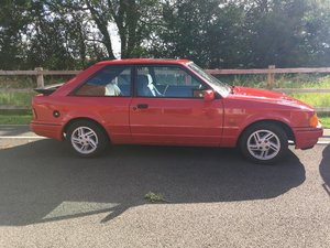 **DECEMBER AUCTION** 1987 Ford Escort XR3i SOLD by Auction