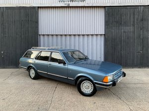 **DECEMBER AUCTION** 1982 Ford Granada 2.8 Ghia SOLD by Auction