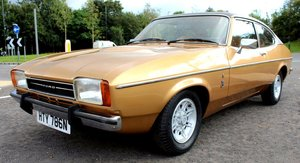 1975 Ford Capri MK11 2.0 Litre Ghia Automatic Beautiful SOLD