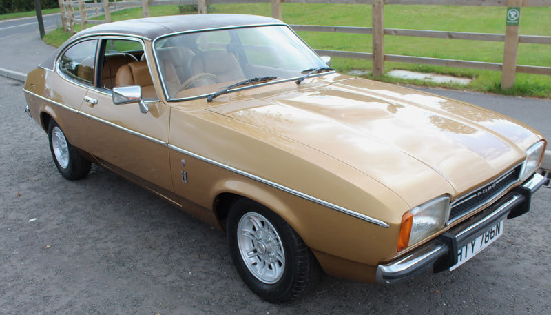 1975 Ford Capri MK11 2.0 Litre Ghia Automatic Beautiful For Sale (picture 2 of 6)
