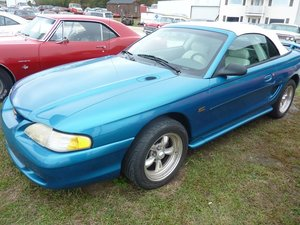 1994 Ford Mustang GT Convertible 5.0 FI Auto Blue $6.9k For Sale