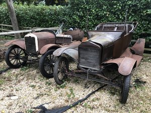 1925 BARN FIND Pair Ford Model T Restoration Projects