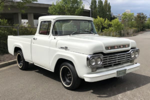 1959 Ford F-100 Pick-Up Truck = Solid Driver V-8 Manual $12.