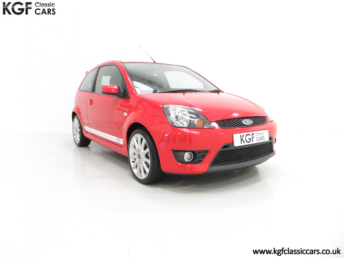 2007 A Spectacular Ford Fiesta ST150 with Only 18,610 Miles SOLD (picture 1 of 6)