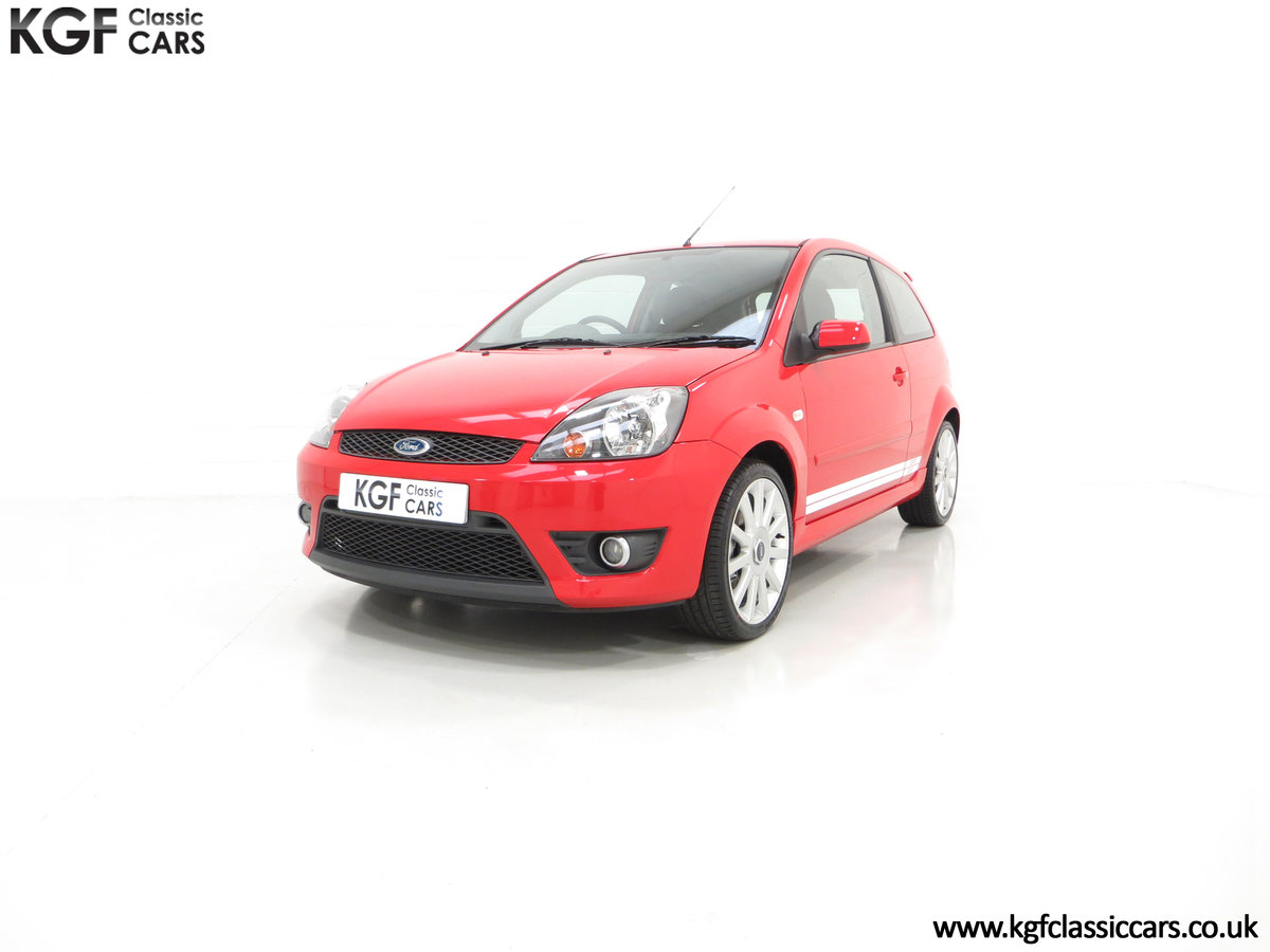 2007 A Spectacular Ford Fiesta ST150 with Only 18,610 Miles SOLD (picture 2 of 6)