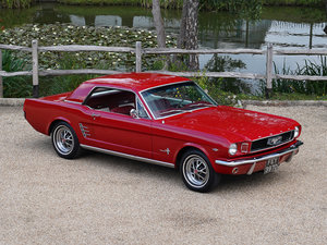 1966 FORD MUSTANG 289 COUPE AUTOMATIC , POWER STEERING For Sale