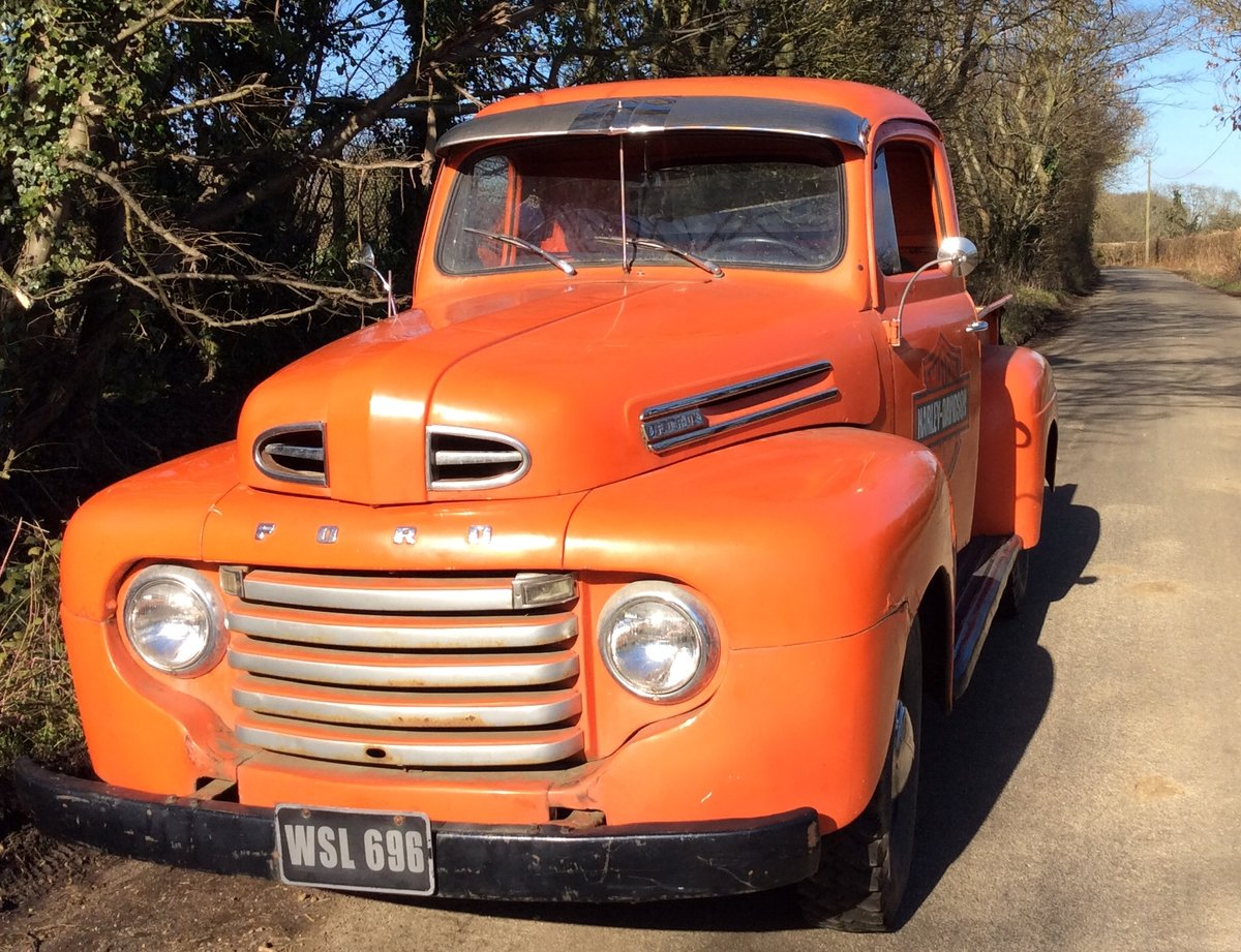 1949 Ford F1 flathead V8 For Sale (picture 1 of 6)