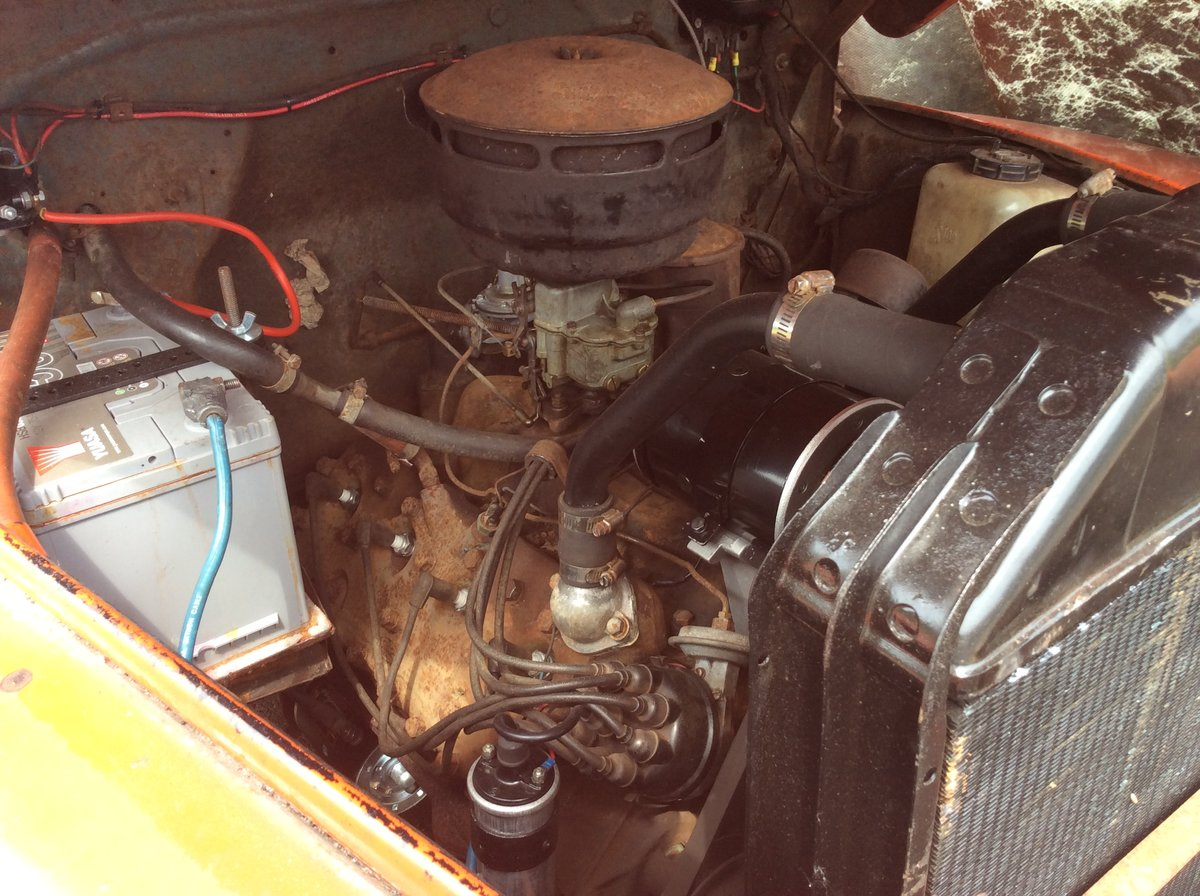 1949 Ford F1 flathead V8 For Sale (picture 4 of 6)