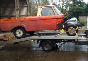 Ford F100 1963 Unibody For Sale