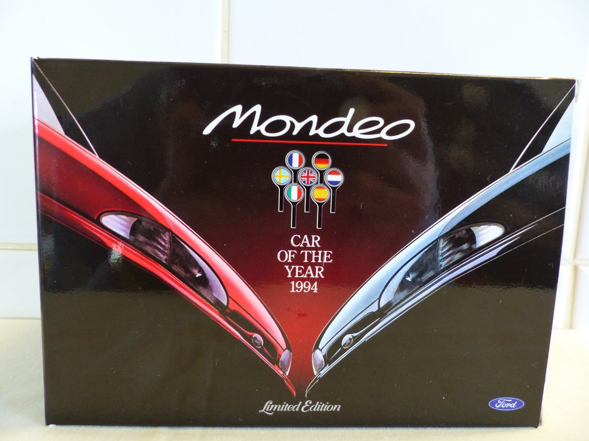 """1994 """"Ford Mondeo Car Of The Year 1:43 Scale Model"""" For Sale (picture 1 of 6)"""
