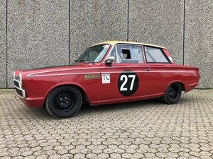 1965 Ford Cortina 1500GT MK1 FIA Racecar For Sale