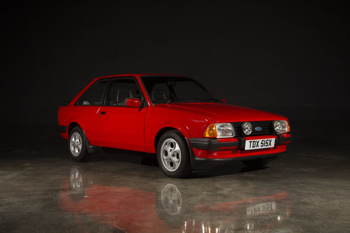 1981 Ford Escort XR3 - Sunburst Red For Sale (picture 1 of 6)