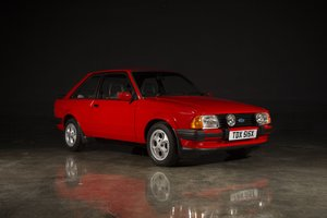 1981 Ford Escort XR3 - Sunburst Red For Sale