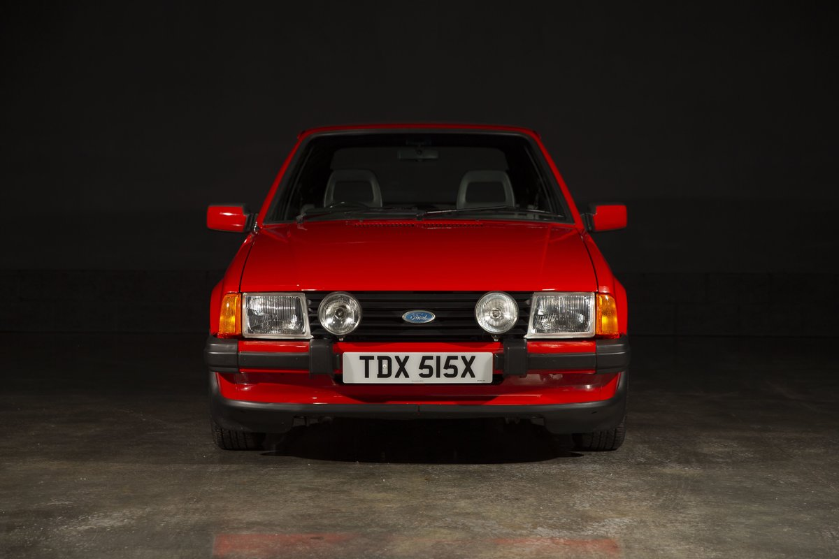 1981 Ford Escort XR3 - Sunburst Red For Sale (picture 2 of 6)