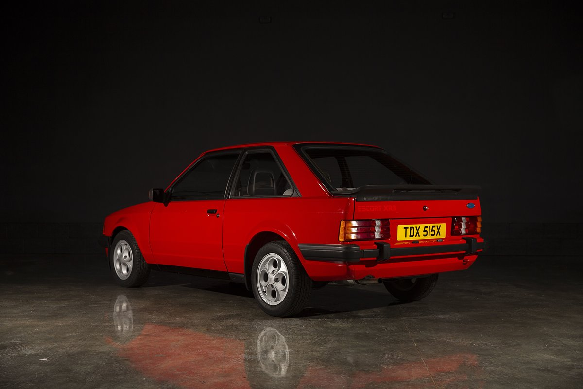 1981 Ford Escort XR3 - Sunburst Red For Sale (picture 3 of 6)