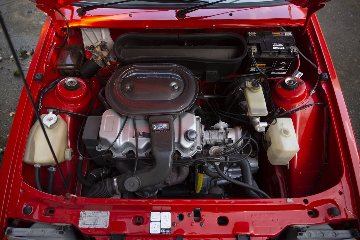 1981 Ford Escort XR3 - Sunburst Red For Sale (picture 5 of 6)
