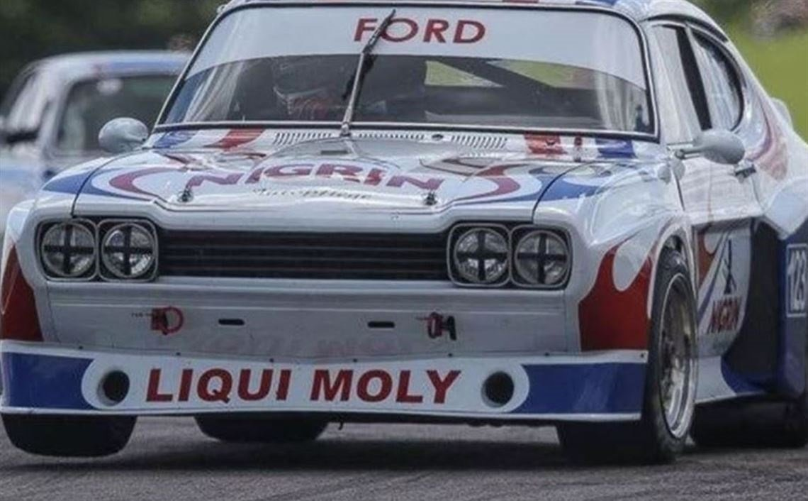1974 Ford Capri RS3100 - Group 2 Touring Car For Sale (picture 1 of 3)