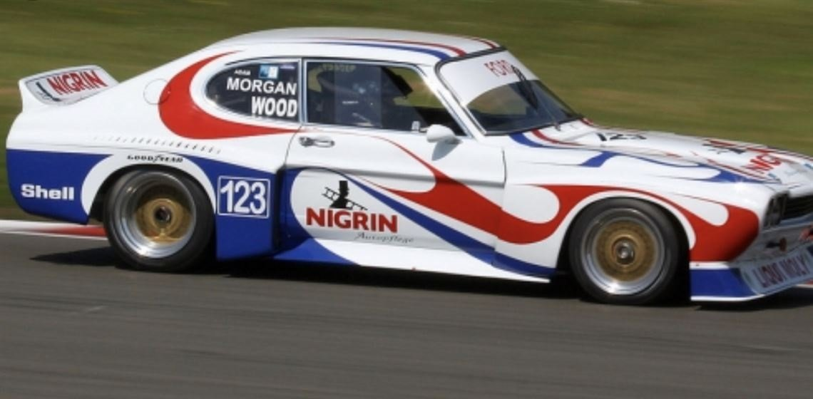 1974 Ford Capri RS3100 - Group 2 Touring Car For Sale (picture 2 of 3)