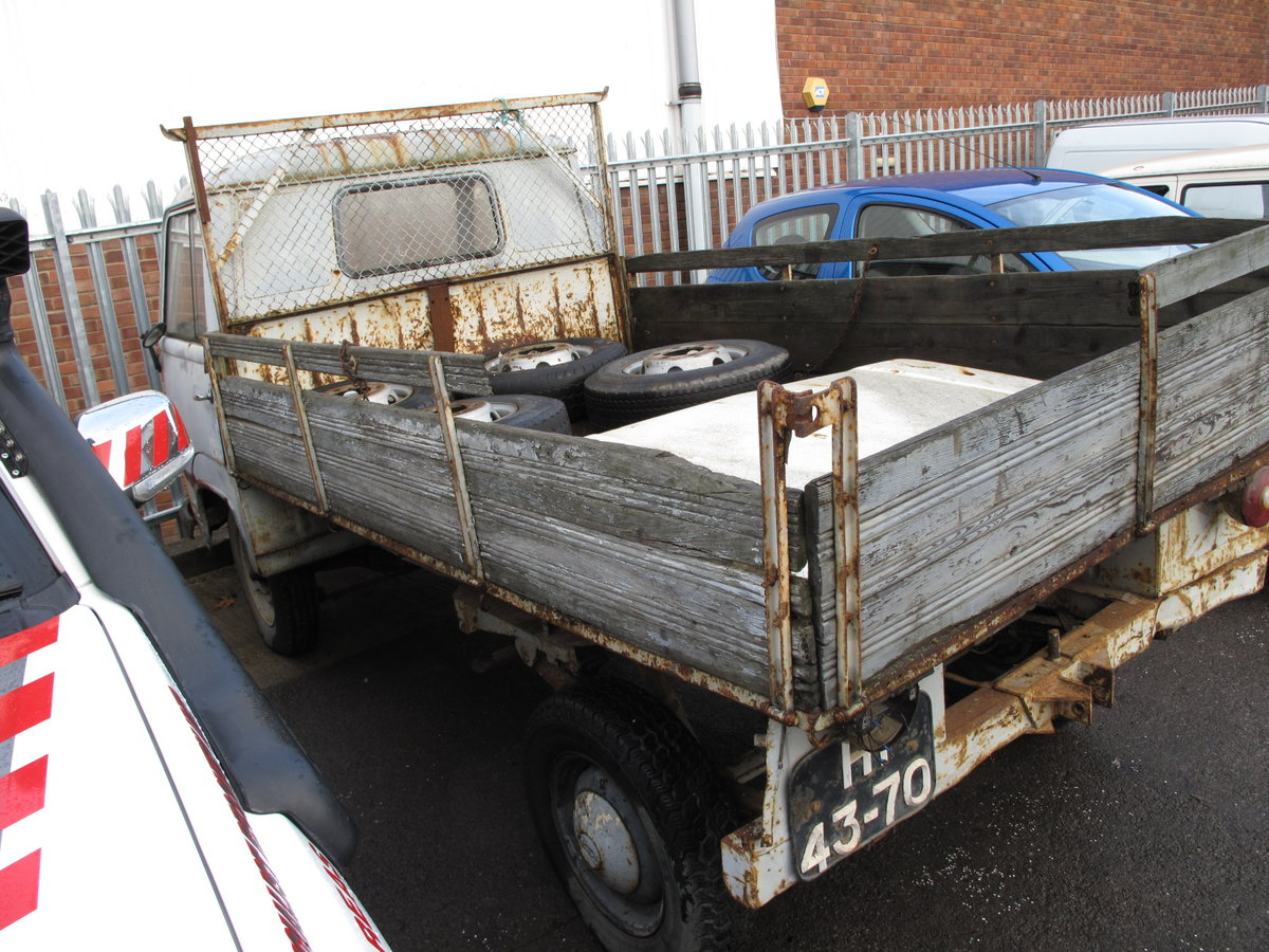 1965 Ford Taunus Transit FK1250 Pickup For Sale (picture 4 of 6)