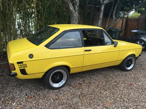 Picture of 1980 ESCORT SPORT 1600 mk2 SOLD