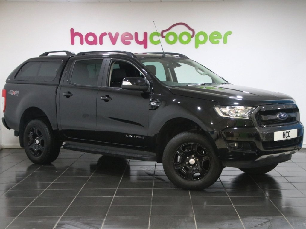 2018 Ford Ranger Pick Up Double Cab Black Edition 2.2 TDCi Auto 2 SOLD (picture 1 of 6)