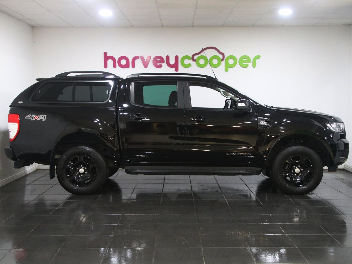 2018 Ford Ranger Pick Up Double Cab Black Edition 2.2 TDCi Auto 2 SOLD (picture 2 of 6)
