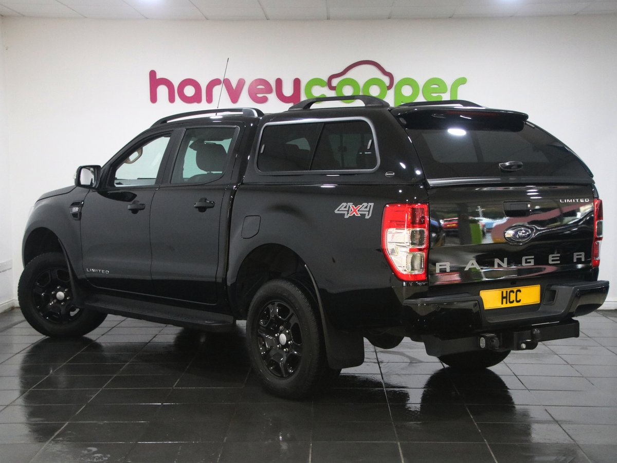 2018 Ford Ranger Pick Up Double Cab Black Edition 2.2 TDCi Auto 2 SOLD (picture 3 of 6)