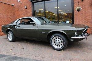 1969 Ford Mustang Fastback 3 Speed Manual | Black Jade