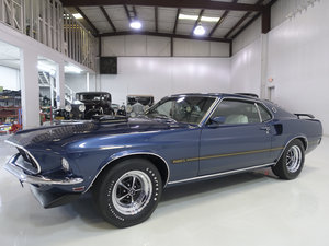 1969 Ford Mustang Mach 1 Fastback For Sale