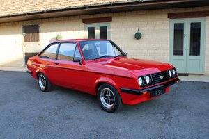 1977 FORD ESCORT RS2000 For Sale