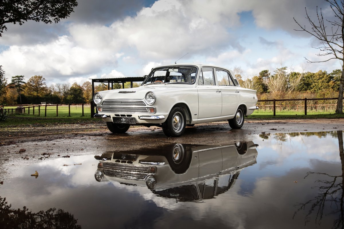 1966 Ford Cortina Mk1 GT For Sale (picture 21 of 24)