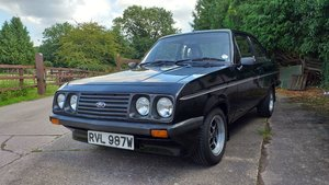 1980 ESCORT RS 2000 CUSTOM TOTALLY RESTORED For Sale
