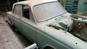1966 Cortina mk1 deluxe