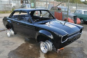 1974 FORD ESCORT MEXICO MK1 FACTORY BLACK  SOLD