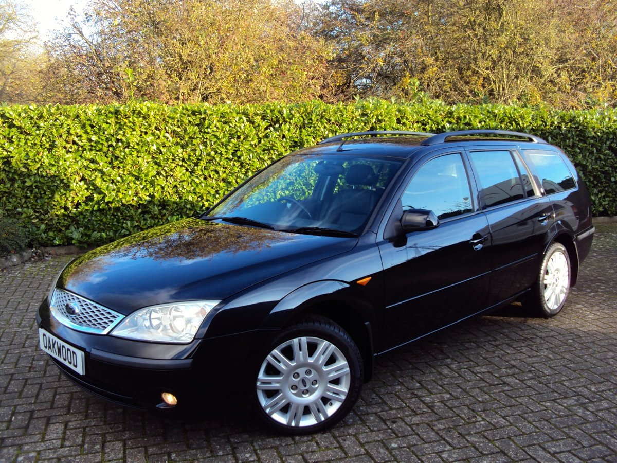 2001 WOW!! Ford Mondeo 2.0 TDDi Ghia X Estate *NOW SOLD* For Sale (picture 1 of 6)