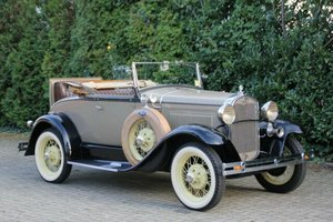 Ford Model A Roadster, 1931, 22.900,- Euro For Sale