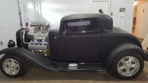 1932 Ford Coupe (Phelps, NY) $42,500 obo