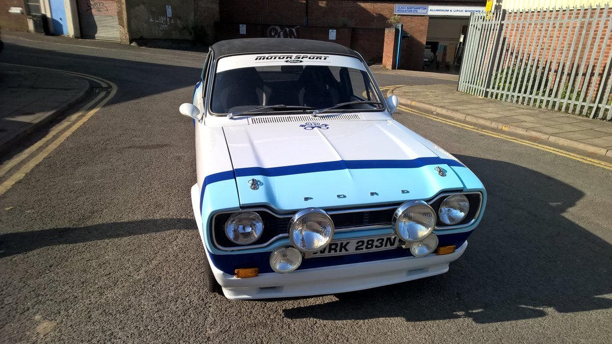 Escort mk1 4 dr 1740cc For Sale (picture 1 of 6)