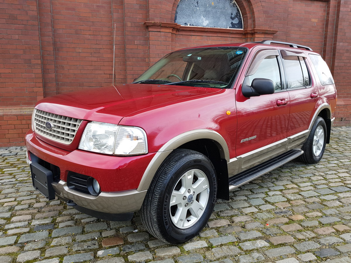 2004 FORD EXPLORER 4.6 EDDIE BAUER AUTOMATIC * 7 SEATER 4X4 For Sale (picture 1 of 6)