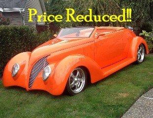 1939 Ford Custom Roadster Custom Lt1 350 AT 130k spent $72.5