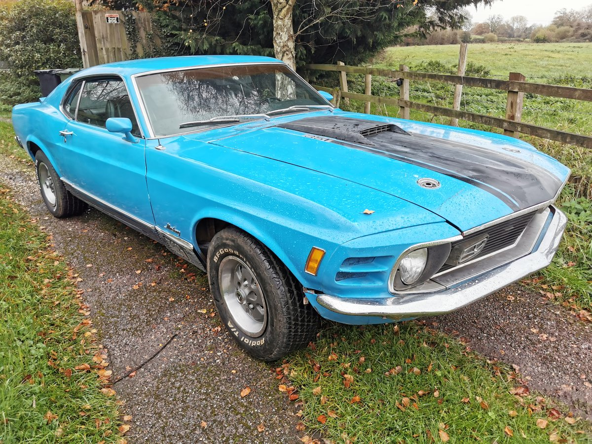 1970 Ford Mustang 351 Mach 1 For Sale (picture 1 of 6)