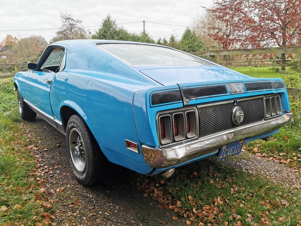1970 Ford Mustang 351 Mach 1 For Sale (picture 3 of 6)