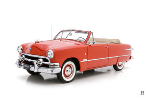 1951 FORD CUSTOM DELUXE V-8 CONVERTIBLE For Sale