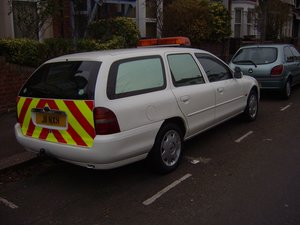 1998 Ford mondeo ex police car