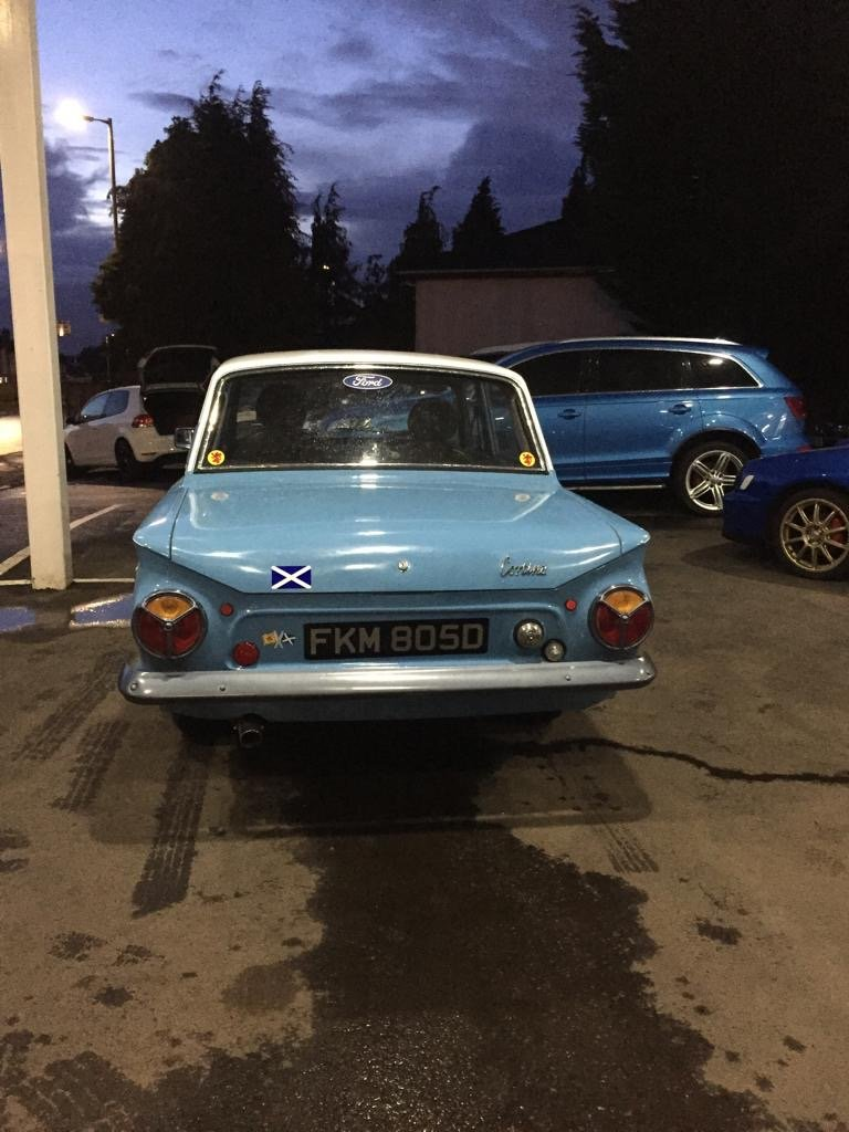 Ford cortina mk 1 only 1 previous owner from new For Sale (picture 3 of 6)