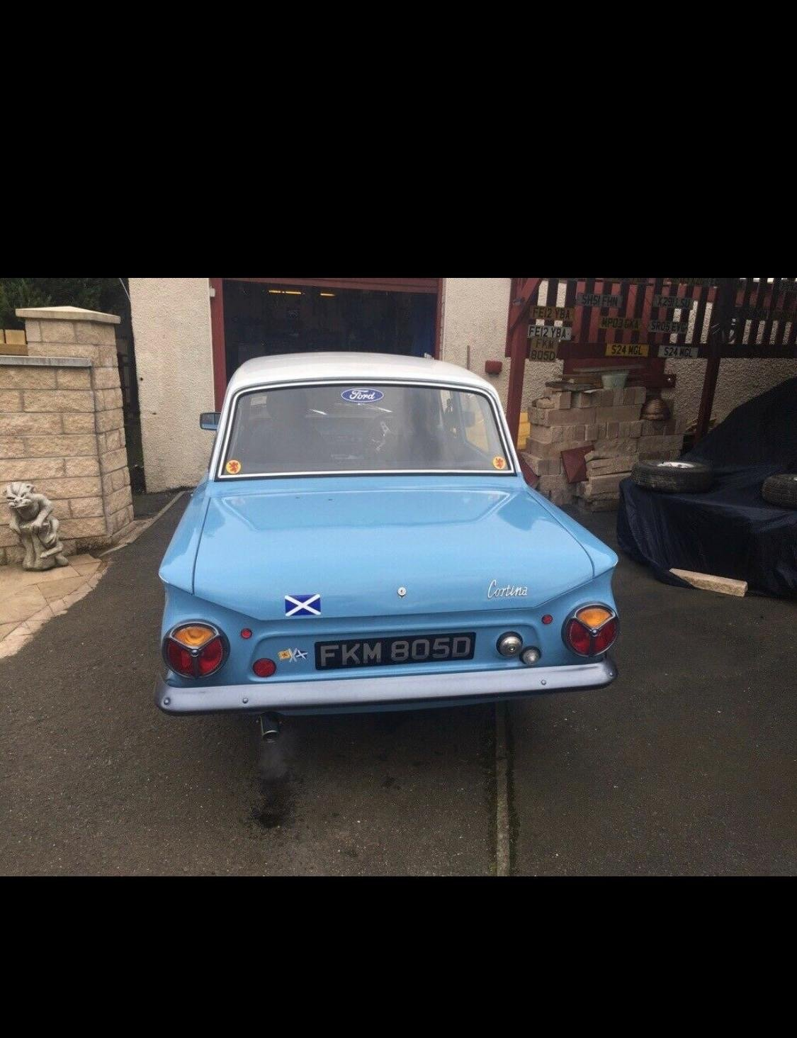 Ford cortina mk 1 only 1 previous owner from new For Sale (picture 5 of 6)