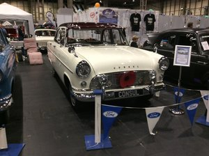 1962 My Ford Consul 375 historic vehicle