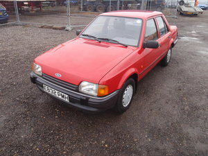 1988 Ford orion 1.6cl. 30k 1 owner,heated seats.