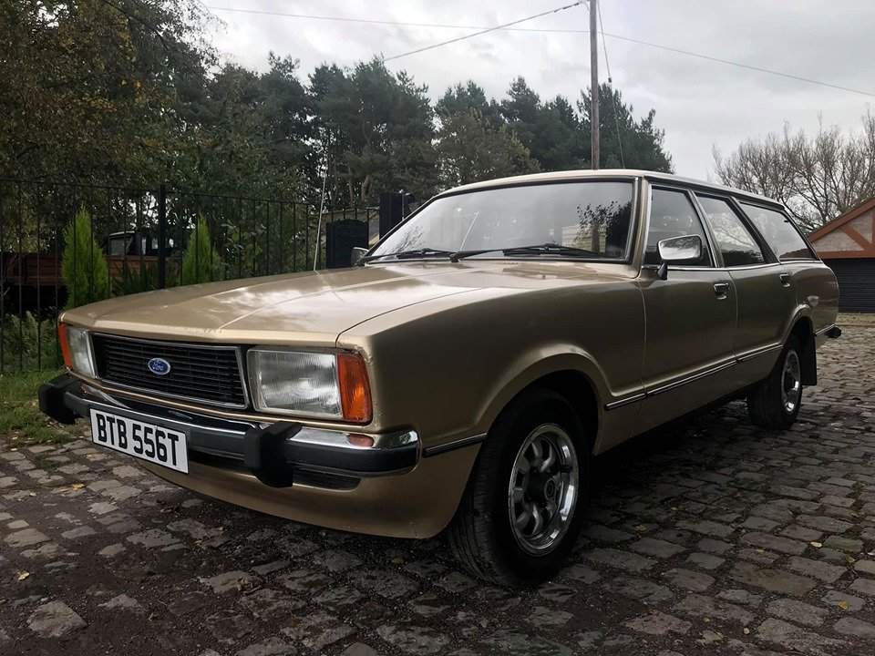 1979 Ford Cortina 1.6 GL Estate 37,000 miles! For Sale (picture 2 of 6)