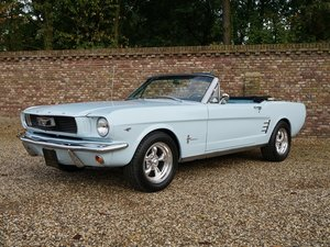 1966 Ford Mustang 289 V8 Convertible original colours, disc brake For Sale